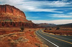 Red Rock scenic byway.