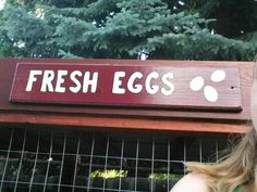 I love farm fresh eggs and how golden and yummy they are