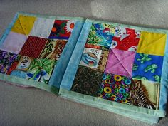 Baby Brainstorm: I Spy Quilt Book