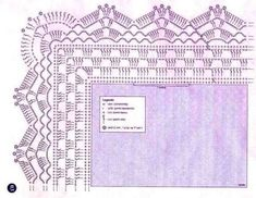 Granny Square Runner Pattern Diagram and Inspiration. Loving this easy to create granny square runner,… Crochet Boarders, Crochet Lace Edging, Crochet Diagram, Crochet Stitches Patterns, Crochet Chart, Crochet Trim, Crochet Designs, Crochet Doilies, Crochet Flowers