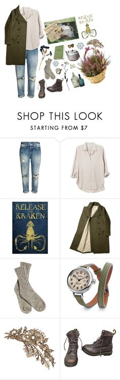 """The Sea was a Siren"" by emdarcy ❤ liked on Polyvore featuring Xirena, Shinola and Dr. Martens"
