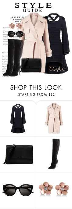 """Autumn to Winter warmers for South Africa....where it's cold but the sun always shines!"" by blinking-beauty ❤ liked on Polyvore featuring Miss Selfridge, Michael Kors, Stuart Weitzman and Allurez"