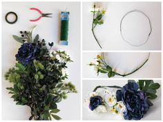 """A """"Midsummer Night's Dream"""" Flower Crown 