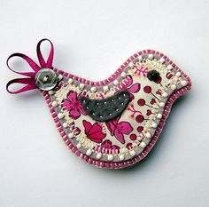 Another brooch by Buttercup Boutique