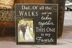 Sweet gift for bride's father! LOVE this