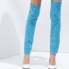 Knitted Leg warmers, Leggings, Knitted And Crocheted pattern at heartful-twist.com