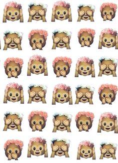 Cute Emoji Monkeys Tumblr Dashboard Theme - - Random Themes