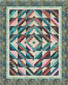 Tube Top designed by Cozy Quilt Designs. Features Artisan Batiks: Regal by Lunn Studios, shipping to stores March 2016. Roll up friendly! #artisanbatiks
