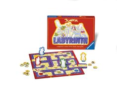 Junior Labyrinth - The Beginners' Maze Game @ http://www.newtsgames.com/junior-labyrinth-the-beginners-maze-game.html