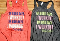 Bad Days  Women's Workout Gym Tank