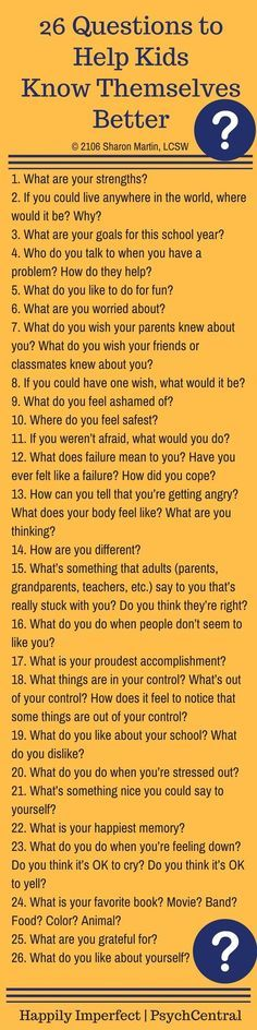Kids Discover 26 Questions to Help Kids Know Themselves Better Parenting Advice, Kids And Parenting, Gentle Parenting, Parenting Classes, Foster Parenting, Parenting Styles, Parenting Quotes, Raising Kids, Social Skills