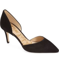 Main Image - Sam Edelman 'Telsa' d'Orsay Pointy Toe Pump (Women)-NORDSTOM shoes