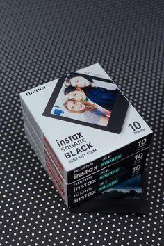 NEW Fujifilm Instax Square Black frame film 40 Polaroid Photo Album, Polaroid Wall, Polaroids, Instax Mini Album, Instax Mini Film, Instax Camera, Fujifilm Instax, Fuji Instax, Instax Share