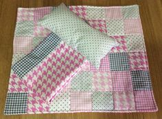 Doll quilt, pillow and sheet set by TheAngoraBunny on Etsy https://www.etsy.com/au/listing/523564670/doll-quilt-pillow-and-sheet-set