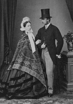 Prince  Princess Louis of Hesse and by Rhine, 1862