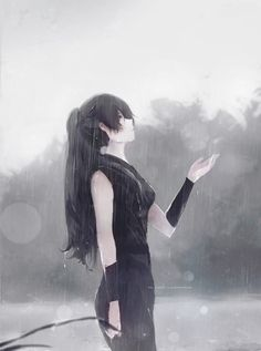 Helena Yuy, Aoi Ogata auf ArtStation unter www. - Helena Yuy, Aoi Ogata auf ArtStation unter www. Anime Love, Cool Anime Girl, Beautiful Anime Girl, Anime Art Girl, Anime Girls, Manga Girl Sad, Sad Girl Art, Kawaii Anime, Chica Anime Manga