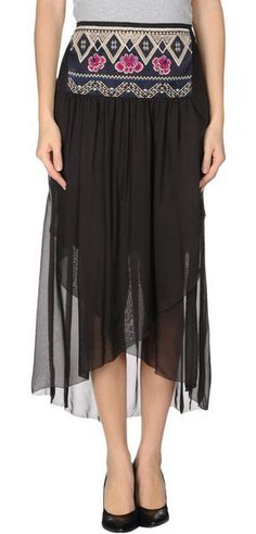 Odd Molly Black Long Skirt