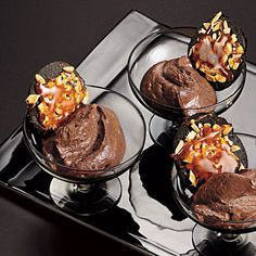 Almond-Mocha Mousse | Cooking Light <-- #WinePairing: Sutter Home Merlot