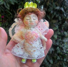 AngelHandmade Miniature art doll by irinaalek on Etsy
