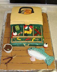 Michele Robinson Cakes: Tackle Box Cake