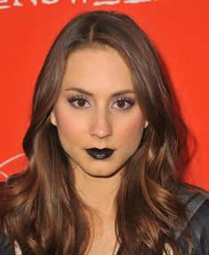 Actress Troian Bellisario attends a screening of ABC Family's 'Pretty Little Liars' Halloween episode at Hollywood Forever Cemetery on Octob...