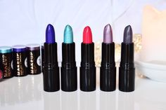 Makeup Revolution Unicorns Unite Lipsticks   #lipstick #lipsticks #makeup #beautyblogger #beauty #blogger #makeuprevolution #unicorn #unicornsunite #brightlipstick   http://misssunshinesparkle.blogspot.co.uk/2015/10/makeup-revolution-unicorns-unite.html