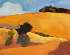 landscape paintings horizon | Sandy Ostrau 02 Artist Interview with Sandy Ostrau top articles ...