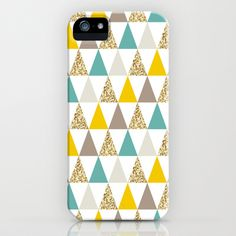 Graphic and Glitz in Elements iPhone & iPod Case