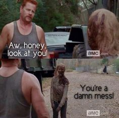Sgt. Abraham Ford - cautiously optimistic about him. I hope I can say that we're gonna like him almost as much as we love Daryl Dixon now.