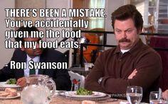 Mistake Ron Swanson