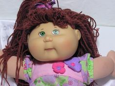 Cabbage Patch Kids OAA Girl With Original CPK Outfit