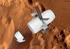 2031 After Dragon V2 Mars flights, ranging from 2022 to 2028, MCT arrives to the red planet whith a small crew and equipment to start a permanent base, rapid prototyping machines and methane and O2 factories.