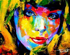 """""""Солнечное настроение"""" #portrait #art #popart #abeliyart  Artem Beliy"""