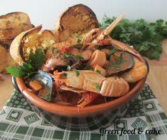 ZUPPA DI PESCE http://blog.giallozafferano.it/greenfoodandcake/zuppa-pesce/