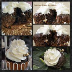 #photogrid #chocolate #orange #marmalade #cupcakes #dessert #delicious #creamcheese #party