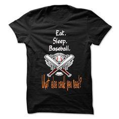 Eat Sleep Baseball T Shirts, Hoodie