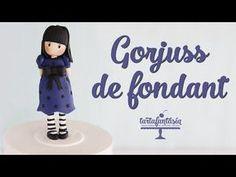 Come fare una bambolina Gorjiouss in pasta di zucchero - YouTube