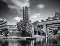 Barbican Lake & Waterfall, despite its brualist tag - one of the most humane spaces in the city of London