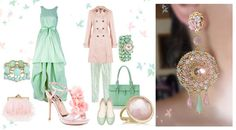 Earrings Mint   by Serena Di Mercione
