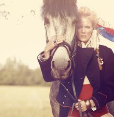 Ph Hervás & Archer. wwwhervasarcher.com  #fashion #cover #horse