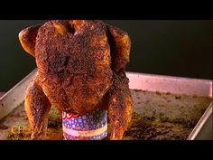 Recipes With Chicken In A Can : Michael Symon's Beer Can Chicken Recipe Can Chicken Recipes, The Chew Recipes, Beer Can Chicken, Canned Chicken, Food Network Star, Food Network Recipes, Bbq Grill, Grilling, Masterchef Australia