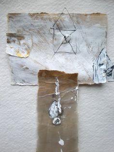 mano kellner  collage / painting - detail