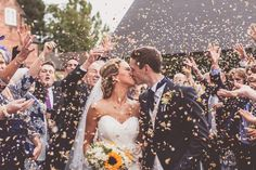 Naomi Neoh 'Snowdrop' | Packington Moor Wedding | Rustic Decor | Sunflowers as Wedding Flowers | WE ARE // THE CLARKES Photography & Film