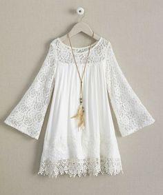 girls dreamy dress & necklace set