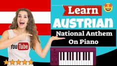 Austrian National Anthem Piano Lesson - Austrian National Anzem Piano Leson Easy Piano Songs, National Anthem, Piano Lessons, App, Learning, Youtube, Free, Musica, Piano Classes
