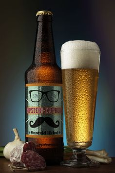 Just try no to get beer foam on your stache...  :)