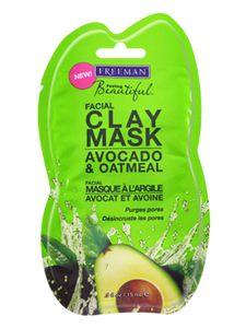 Travel size - Avocado & Oatmeal Facial Clay Mask!   #beauty #mask #facialmask
