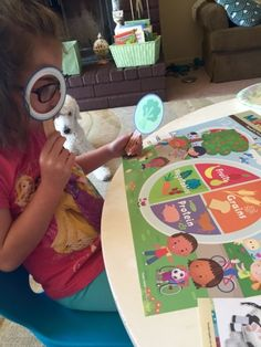 Investigating the Theme poster from Mother Goose Time