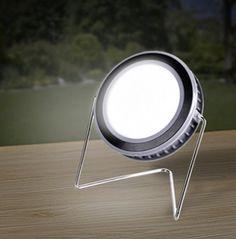 Foco LED Redondo Recargable en Energia Solar 10 W USB