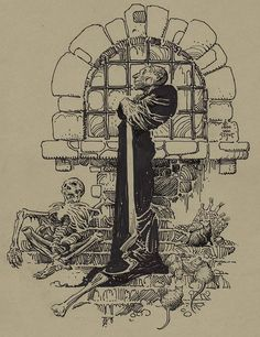 Nosferatu by William Stout Ink Illustrations, Illustration Art, Illustration Pictures, Hatch Drawing, Esoteric Art, Rare Stamps, Drawing Studies, Figure Sketching, Black And White Illustration